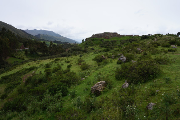Tambomchay to Sacsaywaman - a half day hike around Cusco.