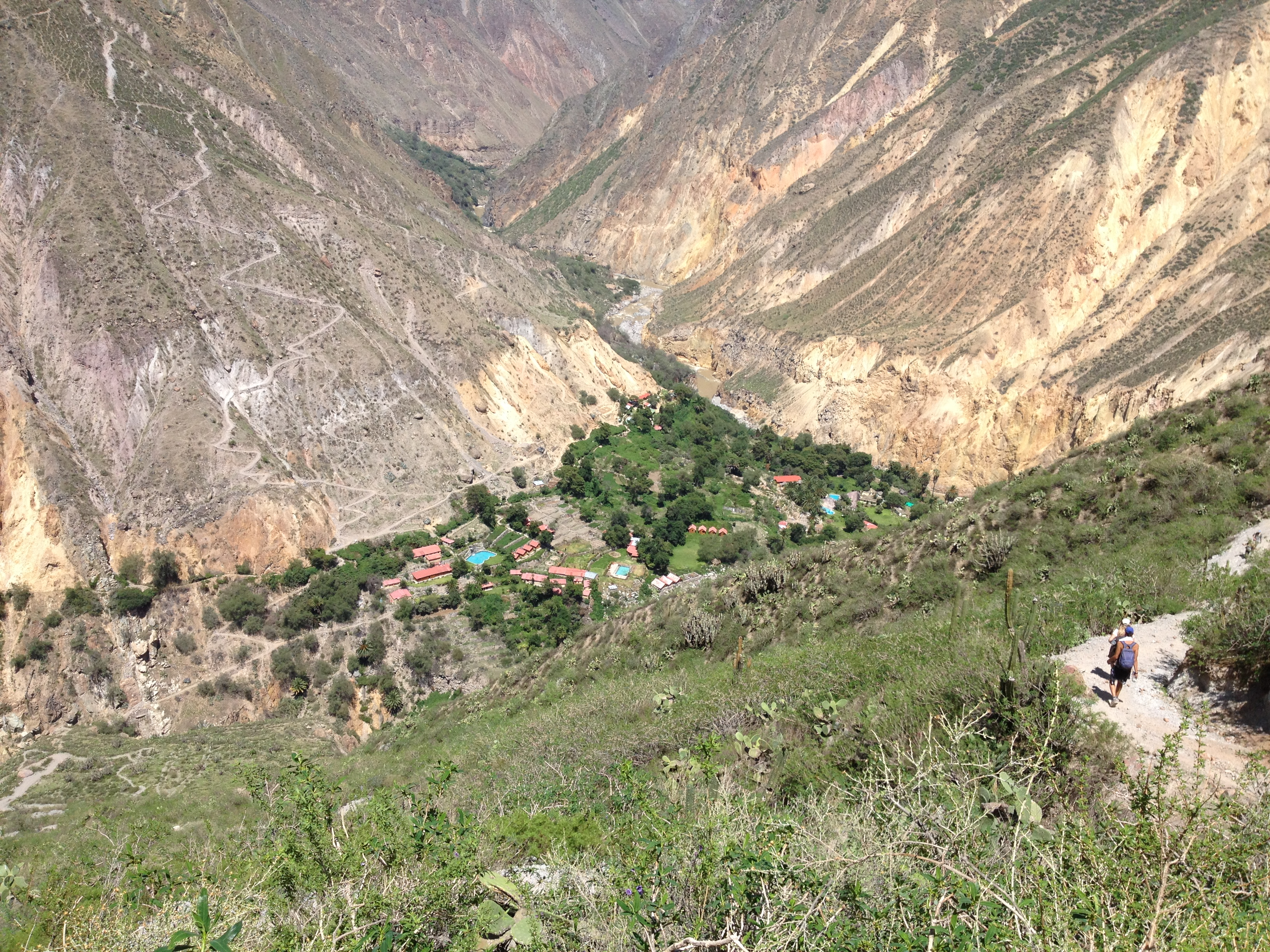 how to get to colca lodge
