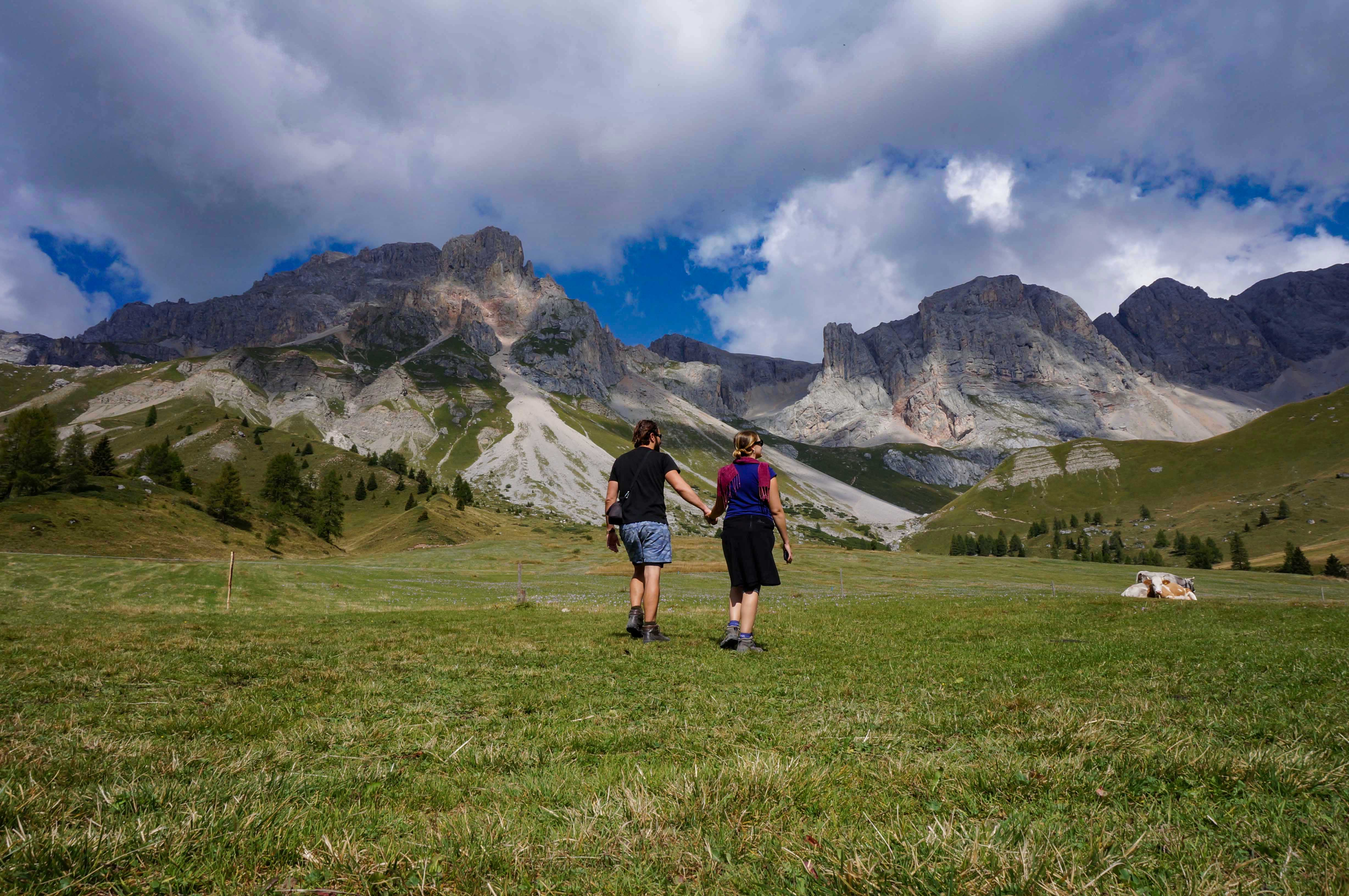 Dolomites Adventuring On A Budget Two Trekkers